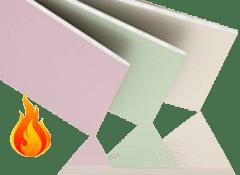 Гипсокартон огнестойкий
