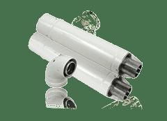 Комплекты дымохода для газовых котлов