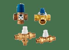 Двухходовые смесительные клапаны