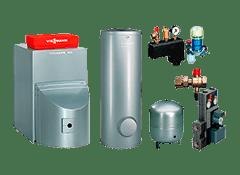 Монтаж пакетного предложения газового напольного котла