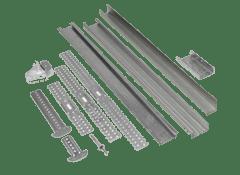 Профиля и крепления к гипсокартонным конструкциям цена