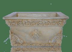 Бетонные вазы и цветочницы цена