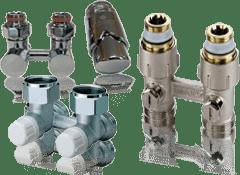 Блоки для радиатора с нижним подключением цена