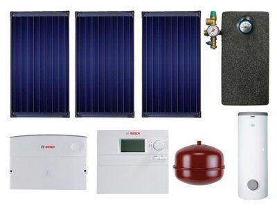 Сонячний колектор Пакет SolarPak FCB220-2V / WST 400-5 SCE / B-sol 100 / WFS20 / ELT5 / WMT1 / WMT2 / AGS5E / SAG 25 / WTF20 цена