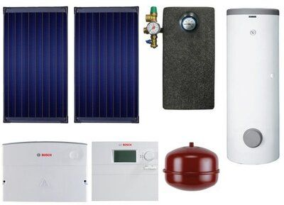 Сонячний колектор Пакет SolarPak FCB220-2V / WSTB 300 SC / ISM1 / WFS20 / ELT5 / WMT1 / WMT2 / AGS5E / SAG 18 / WTF20 цены