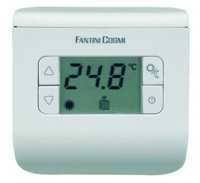 Электронный комнатный термостат СН 110 (белый, серебристый, черный) цена