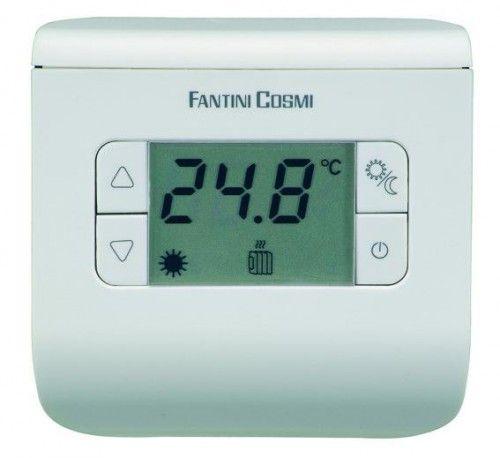 Электронный комнатный термостат СН 110 (белый, серебристый, черный)