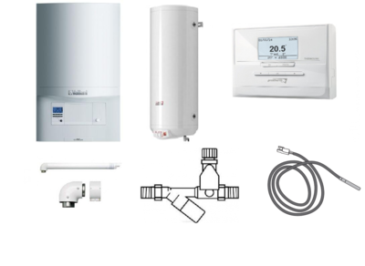 Пакет Vaillant ecoTEC pro VUW INT 286/5-3+WEL100+Termolink P (0020202887) цена