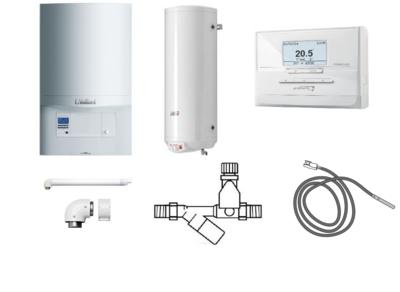 Пакет Vaillant ecoTEC pro VUW INT 346/5-3+WEL150+Termolink P (0020202890) цены