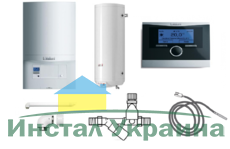 Пакет Vaillant ecoTEC pro VUW INT 236/5-3+WEL100+VRC470 (0020202904)