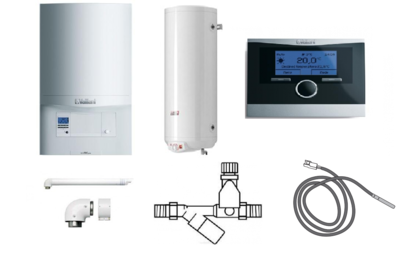 Пакет Vaillant ecoTEC pro VUW INT 286/5-3+WEL150+VRC470 (0020202907) цена