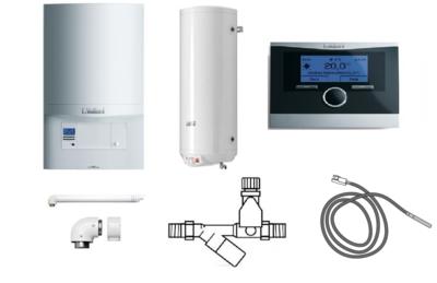 Пакет Vaillant ecoTEC pro VUW INT 346/5-3+WEL100+VRC470 (0020202908) цена