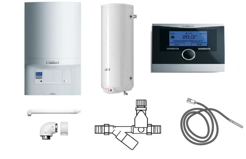 Пакет Vaillant ecoTEC pro VUW INT 346/5-3+WEL100+VRC470 (0020202908)