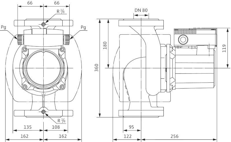 Насос циркуляционный Wilo TOP-S 80/10 DM PN6 (2080065)