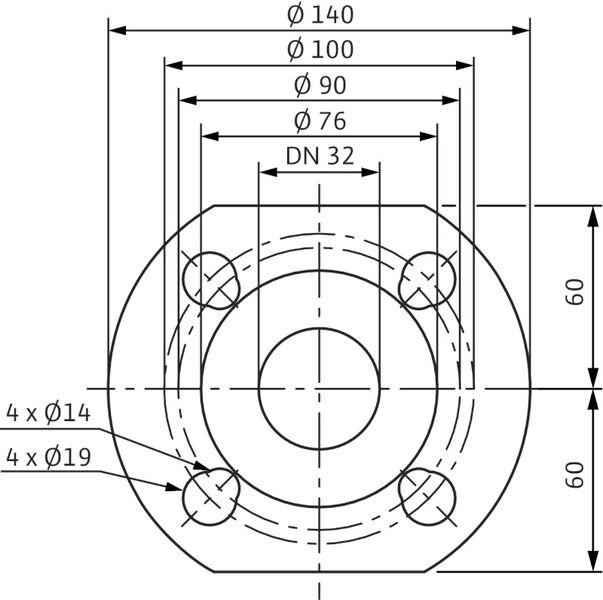 Насос циркуляционный Wilo Stratos-D 32/1-8 ( 2160567)