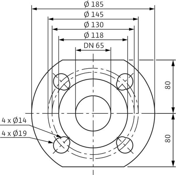Насос циркуляционный Wilo Stratos 65/1-16 (2150591)