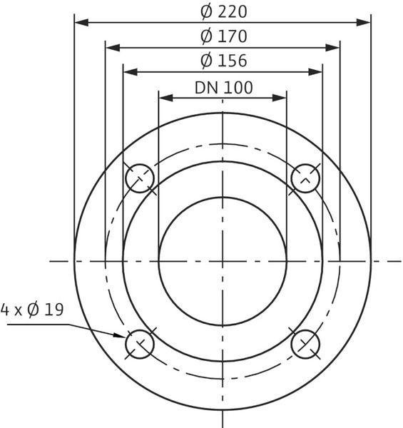 Насос циркуляционный Wilo Stratos 100/1-6 PN6 (2146344)