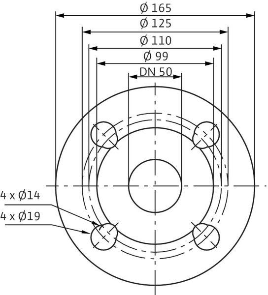 Насос циркуляционный Wilo Stratos 50/1-12 (2090458)