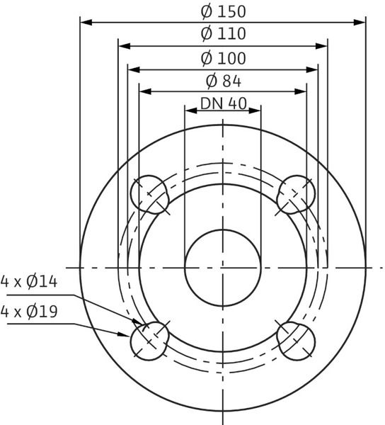 Насос циркуляционный Wilo Stratos 40/1-8 (2090454)