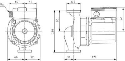 Насос циркуляционный Wilo TOP-STG 30/7 DM (2131758) цены