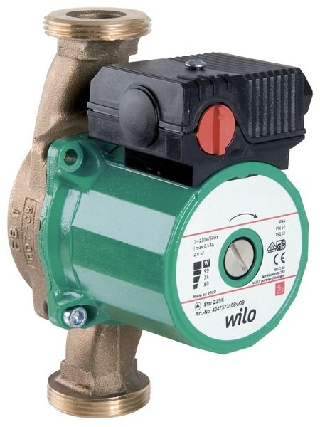 Насос циркуляционный Wilo Star-Z 20/4 EM (4081193)
