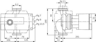 Насос циркуляционный Wilo Stratos 30/1-12 ( 2072567) цена