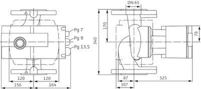 Насос циркуляционный Wilo Stratos 65/1-12 (2069739) цена