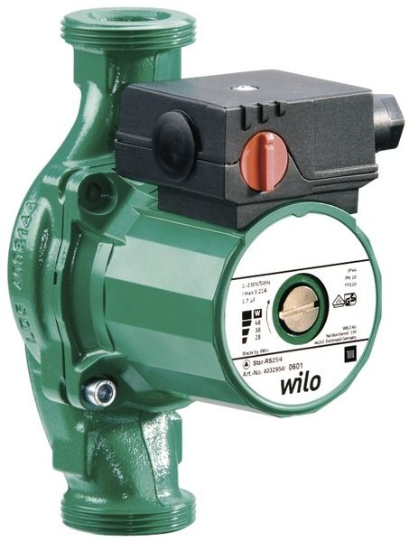 Насос циркуляционный Wilo Star RS 25/4-180
