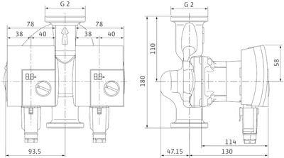 Насос циркуляционный Yonos PICO-D 30/1-8 (4188979) цена
