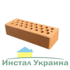 Кирпич керамический лицевой желтый М200