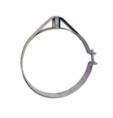 Скоба крепежная из нержавеющей стали; 0,5мм ф320 цена