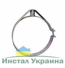 Скоба крепежная из нержавеющей стали; 0,5мм ф360
