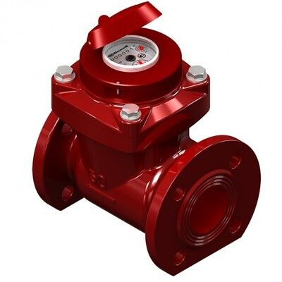 Счётчик воды турбинный WPK-UA- 65B (для горячей воды) цены