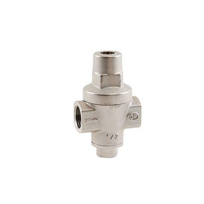 Редуктор давления Rigamonti поршневого типа eolo PN 20 никелированные, без крепления манометра вр/вр 1/2 (202015) цена