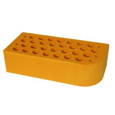 Кирпич керамический лицевой фасонный ЦФ-1 желтый