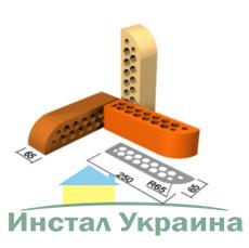 Кирпич облицовочный СБК ВФГ-3 коричневый