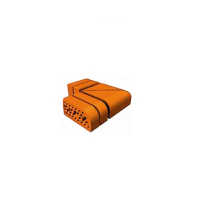 Кирпич облицовочный СБК ВФК-8 (з) коричневый