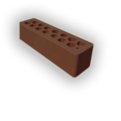 Кирпич облицовочный СБК какао узкий