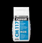 купить Ceresit СМ 117 Эластичная клеящая смесь для натурального камня Flex (5 кг.)