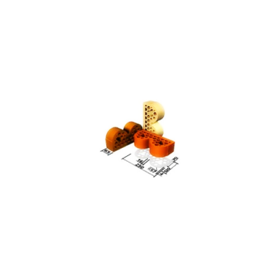 Кирпич облицовочный СБК ВФ-6 вишневый