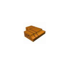 Кирпич облицовочный СБК ВФК-10 (з) коричневый