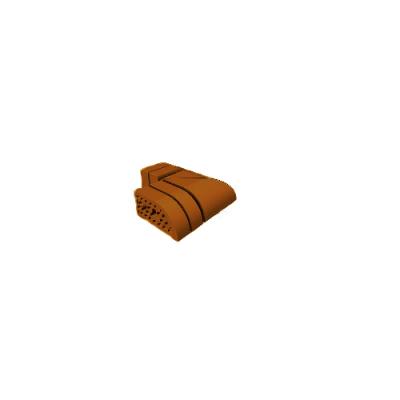 Кирпич облицовочный СБК ВФК-4 (в) коричневый