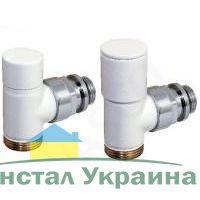 Декоративный клапан ручной регулировки `Sphere` белый S418304 `Comap`