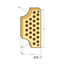 Кирпич облицовочный Евротон ВФ 1 желтый
