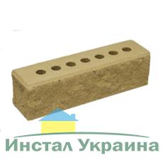 Кирпич Литос узкий колотый с фаской слоновая кость