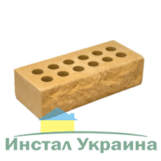 Кирпич Литос стандартный Скала терракот
