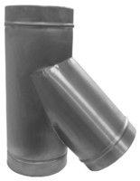 ТРОЙНИК из нержавеющей стали (AISI 304) 45 град; 0,8 мм ф140