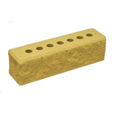 Кирпич Литос узкий колотый с фаской желтый цена
