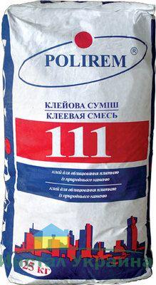 Polirem 111 белая клеевая смесь для камня