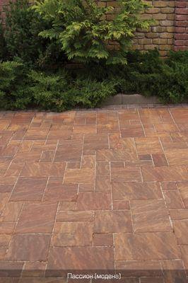 Тротуарная плитка Пассион (модена) (6 см) цена
